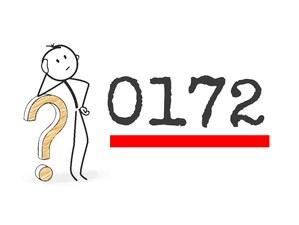 0172 Vorwahl