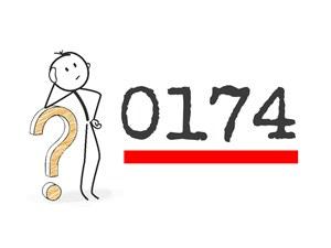 0174 Vorwahl