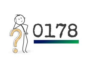 0178 Vorwahl