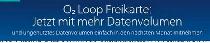 """""""Vodafone Giga Depot Vorläufer"""" bei der o2 Loop Freikarte"""