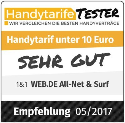 WEB.DE Handytarif im Test