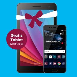 Handy + Tablet Gratis