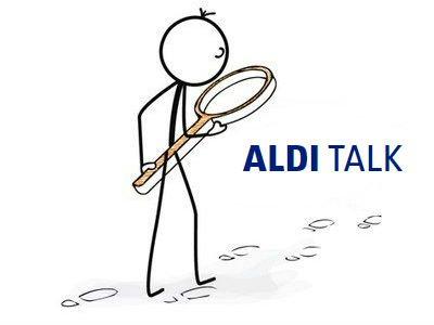 Supermarkt-Tarife: ALDI TALK