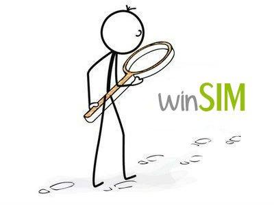 winSIM ohne Datenautomatik